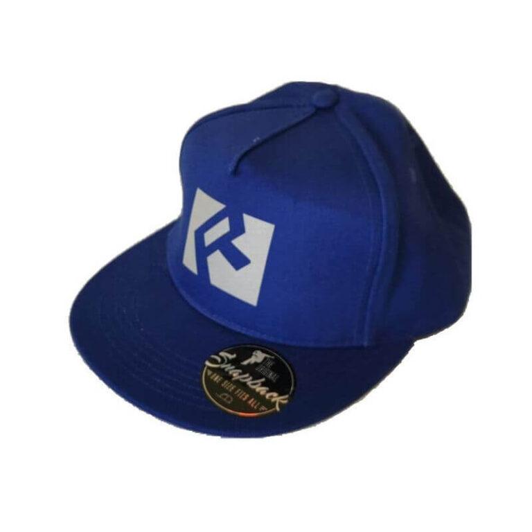 czapka niebieska